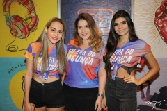 Francisca Sheila, Rebeca Aires e Andressa Kathelyn