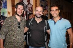 João Baltazar, Ilam Gurgel e Bruno Calaça