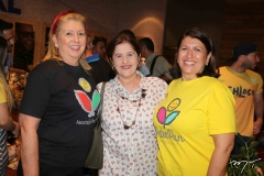 Rosangela Formentin, Liduina Donato e Sandra Salgado