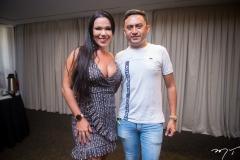 Carla Brazão e Kaic Ribeiro