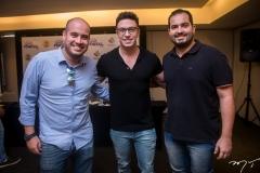 Carlos Massude, Flavio Ribeiro e Renan Pinto