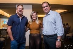 Enio Cabral, Sandra Bezerra e Leonardo Albuquerque