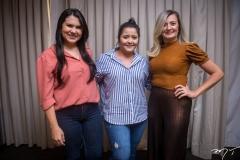 Flavia Martins, Renata Gondim e Sandra Bezerra