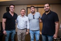 Flavio Ribeiro, José Porto, Renato Barbosa e Renan Pinto