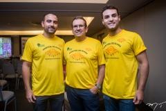 Reno Verçosa, Jean Hipolito e Bruno Calaça