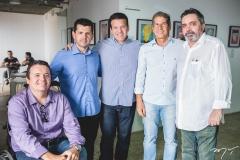 Emerson Damasceno, Erick Vasconcelos, Ferruccio Feitosa, Severino Ramalho Neto e Totonho Laprovitera