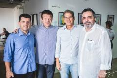 Erick Vasconcelos, Ferruccio Feitosa, Severino Ramalho Neto e Totonho Laprovitera
