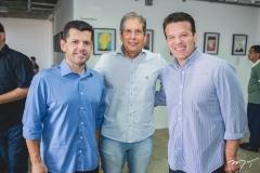 Erick Vasconcelos, Severino Ramalho Neto e Ferruccio Feitosa