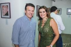Ferruccio Feitosa e Ivana Bezerra