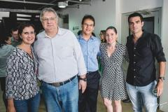 Manoela Nogueira, Morone Torgan, Marcelo Nogueira, Águeda Muniz e Rodrigo Nogueira
