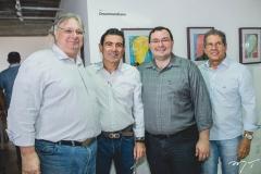 Moroni Torgan, Alexandre Peereira, Mosiah Torgan e Severino Ramalho Neto
