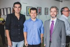 Rodrigo Nogueira, Erick Vasconcelos e Felipe Siqueira