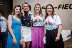 Carol Bezerra, Marta Freire, Lilian Fontele e Patrícia Macedo
