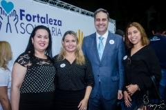 Cristiane Leitão, Darlene Braga, Erinaldo Dantas e Izabele Soares