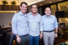 Felipe Cunha, Beto Studart e Roberto Cláudio