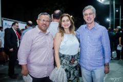 Gilvan Paiva, Dalila Saldanha e Mario Fracalossi