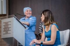 Irmã Conceição e Carol Bezerra