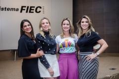 Tatiana Diogo, Marta Freire, Lilian Fontele e Erika Gomes