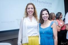 Ticiana Rolim Queiroz e Carol Bezerra