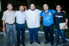 Valdemar Bento, Paulo Nogueira, Diogo Loiola, Carlos Beckman e Neto Barbosa