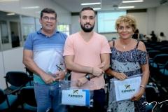 Célio Bastos, Lucas Natan e Celsa Fernandes