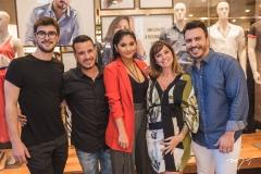 Jefersson Schwartz, Rodrigo Mota, Mileide Mihaile, Tereza Barbosa e João Berlezi