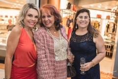 Lilian Porto, Fatima Duarte e Lucitania Feijão
