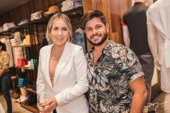 Luize Coelho e Cassio Veras
