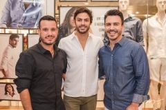 Rodrigo Mota, Pedro Pucci e João Berlezi