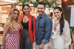 Rozenir Uchoa, Mileide Mihaile, João Berlezi e Rayana Uchoa