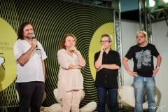 Beto Skeff, Bete Jaguaribe, Fabiano Piuba e Paulo Linhares