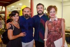 Carolina Vieira, Bitu Cassundé, João Wilson e Natasha Faria