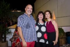 Edson Liberato, Elza Lima e Luciana Lobo