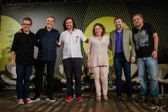 Fabiano Piuba, Tiago Santana, Beto Skeff, Bete Jaguaribe, Élcio Batista e Paulo Linhares (9)
