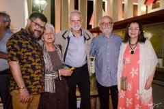 Orlando Maneschy, Nair Benedito José Albano, Rubens Fernandes Junior e Paula Palhares
