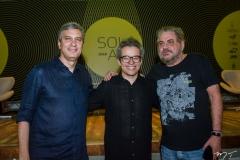 Tiago Santana, Fabiano Piuba e Paulo Linhares (3)