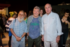 Zé Tarciso, Evandro Teixeira e Silvio Frota