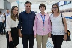 Águeda Muniz, Samuel Dias, Andreea Pal e Manuela Nogueira