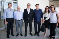 Marcelo Pinheiro, Roberto Cláudio, Arialdo Pinho, Samuel Dias, Águeda Muniz e Manuela Nogueira