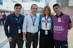 Matheus Borges, Leonardo Guedes, Katia Garcia e Matheus Meneses