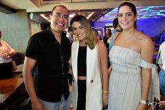 Josafar Neto, Juliana Isa e Sara Mendes