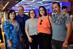 Neuma Figueiredo, Joel Filha, Elsa Moreira, Carine Maia e Ary Lobo