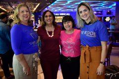 Rosangela Formentin, Regina Carvalho, Olga Freire e Joana Clemente