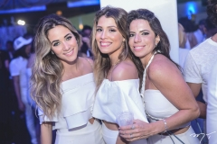 Isabelle Leite, Taine Neves e Lina Franck
