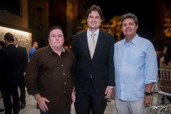 Aurélio Gonçalves, Fernando Laureano e Marcos Oliveira