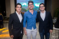Caio Queiroz, Roberto Alexandre e Jonas Ferreira