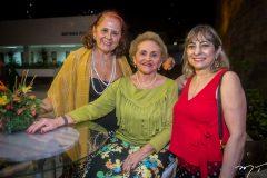 Fátima Duarte, Marlene Cabral e Lucrécia Araújo