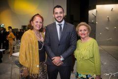 Fátima Duarte, Valdemir Alves e Marlene Cabral