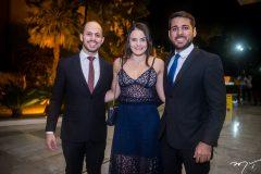 João Vitor Fernandes, Ana Lara Soares e João Paulo Martins