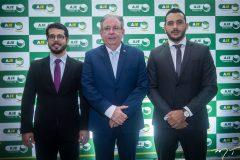 Rafael Fujita, Ricardo Cavalcante e Valdemir Alves